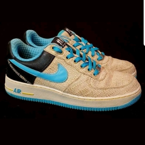 low priced a4e98 02be2 Nike Air Force 1 XXV AF-1 82 The Bahamas Born Kid.  M 5c2bd121d6dc5237f83259ec